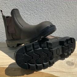 Boots de sécurité en cuir